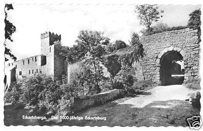 Ansichtskarte, Eckartsberga, Die 1000jährige Eckartsburg, 1962