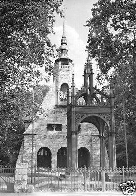 Ansichtskarte, Lützen Kr. Weißenfels, Gustav-Adolf-Denkmal, 1964