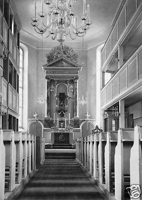 Ansichtskarte, Oberschöna Kr. Freiberg Sachs., 200 Jahre Kirche, Innenansicht, 1965