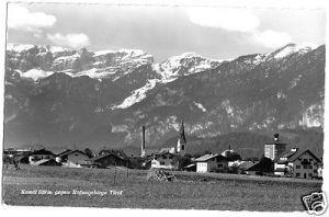 Ansichtskarte, Kundl gegen Rofangeb., 1965
