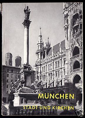 Tour. Broschüre, München - Stadt und Katholische Kirchen, 1960