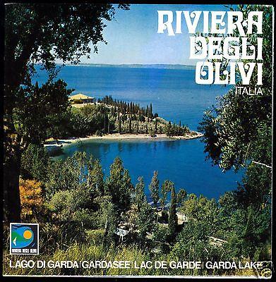 Prospekt, Gardasee, Rivera Degli Olivi, Lago di Garda, Verona, Italien, um 1970
