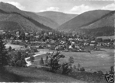 Ansichtskarte, Tabarz Thür. Wald, Teilansicht, 1963