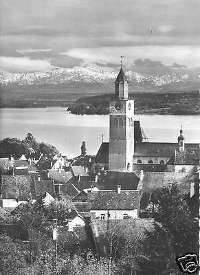 Ansichtskarte, Überlingen Bodensee, Teilansicht, ca. 1965