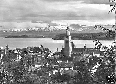 Ansichtskarte, Überlingen Bodensee, Gesamtansicht, ca. 1965