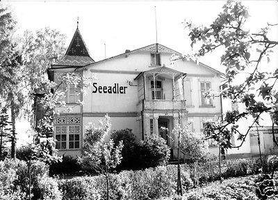Ansichtskarte, Sellin Rügen, Haus Seeadler, 1968