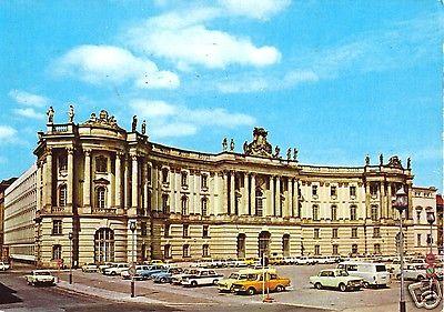 Ansichtskarte, Berlin Mitte, Bebelplatz mit zeitgen. Pkw,