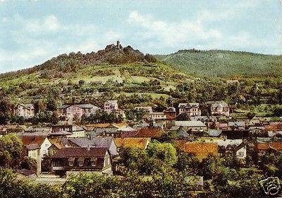 Ansichtskarte, Bad Blankenburg Thür. Wald, Teilansicht, 1966