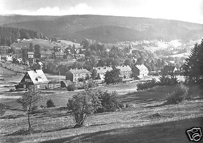 Ansichtskarte, Stützerbach Thür. Wald, Teilansicht, 1966