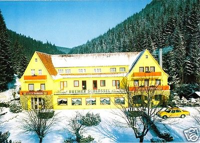 Ansichtskarte, Wildemann Oberharz, Parkhotel