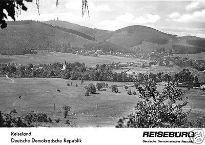 Ansichtskarte, Tabarz Thür. Wald, Gesamtansicht., Zudruck Reisebüro der DDR, deutsch, 1965