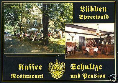 Ansichtskarte, Lübben, Gaststätte