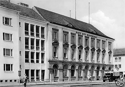 Ansichtskarte, Potsdam, Haus des Handwerks am Platz der Einheit, LKW, 1964
