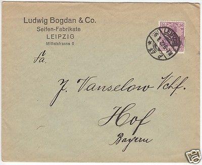 Bedarfspostbrief, DR, Michel EF 148 II, o Leipzig 17, 6.1.22