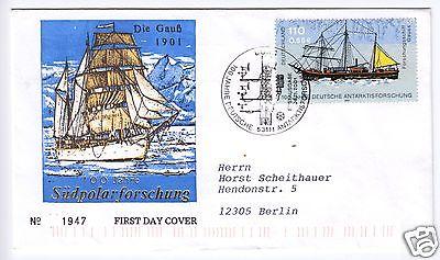 FDC, Mi.-Nr. BRD 2229, o Bonn, 53111, 8.11.2001, Ersttags-SSt, adressiert