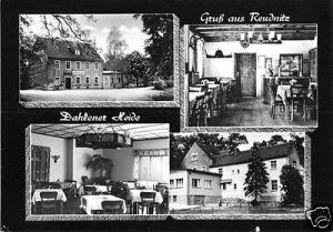 Ansichtskarte, Reudnitz Dahlener Heide, Gasthof Reudnitz, 1967