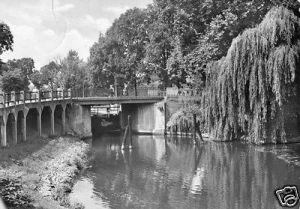 Ansichtskarte, Königs Wusterhausen, Schleusenbrücke, 1976