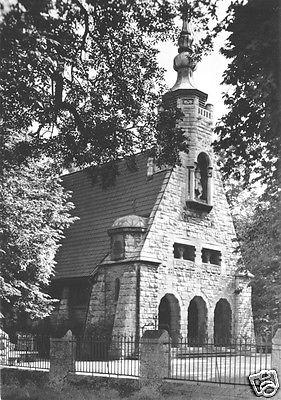 Ansichtskarte, Lützen Kr. Weißenfels, Gustav-Adolf-Kapelle, 1965