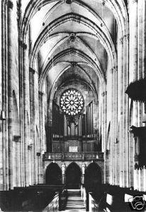 Ansichtskarte, Heilbad Heiligenstadt Eichsfeld, Ev. Kirche St. Martin, Innenansicht, 1984