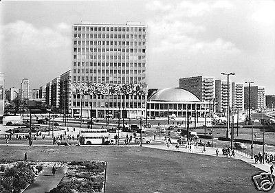 Ansichtskarte, Berlin Mitte, Alexanderpl. vor d. Umgestaltung, K.-Marx-Allee, Alexanderstr.