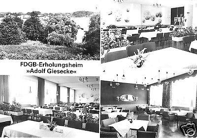 Ansichtskarte, Flecken Zechlin Kr. Neuruppin, FDGB-Erholungsheim