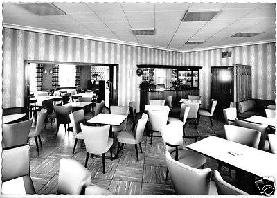 Ansichtskarte, Bischofsgrün Fichtelgeb., Hotel - Café