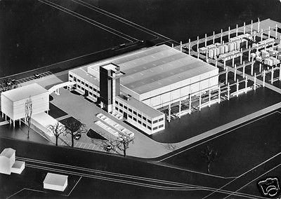 Ansichtskarte, Kassel, Betonwerk Hessen GmbH, Werk Kassel, Modellaufnahme, um 1965