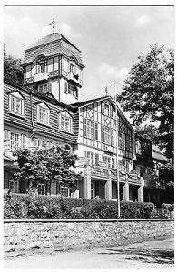 Ansichtskarte, Bad Blankenburg Thür., Ferienheim IG Wismut, 1961