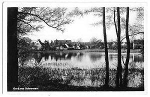 Ansichtskarte, Ochsensaal, Teilansicht mit See, 1954
