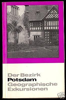 Der Bezirk Potsdam, Geographische Exkursionen,1972