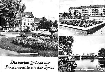 Ansichtskarte, Fürstenwalde Spree, drei Abb., 1969