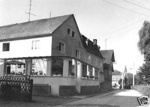 Ansichtskarte, Döschnitz über Rudolstadt, Gasthaus, 1970