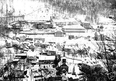 Ansichtskarte, Schwarzburg Thür. Wald, winterliche Teilansicht, 1969