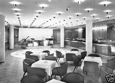 Ansichtskarte, Magdeburg, Hotel International, Juanita-Bar, 1964