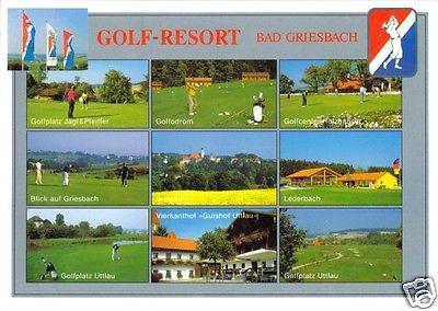 Ansichtskarte, Bad Griesbach, Golf-Resort, 10 Abb., gestaltet, 2001
