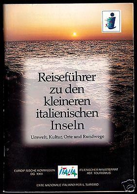Tour. Broschüre, Reiseführer zu den kleinen italienischen Inseln, um 2000