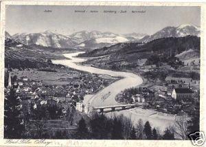 Ansichtskarte, Bad Tölz Obb., Teilansicht, 1938