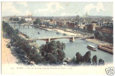 Ansichtskarte, Paris, Vue sur la Seine prise du Pavillion de Flore