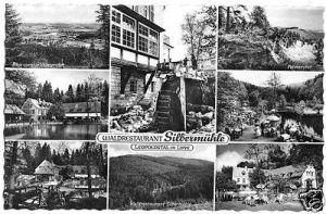 Ansichtskarte, Leopoldstal in Lippe, Waldrestaurant