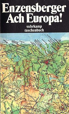 Enzensberger, Hans Magnus; Ach Europa!, 1994
