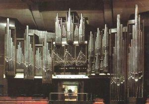 Ansichtskarte, Leipzig, Neues Gewandhaus, Schuke - Orgel, 1985