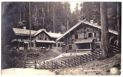 Ansichtskarte, Balzhütte bei Dittersbach, Jetřichovice OT Rynartice, 1921