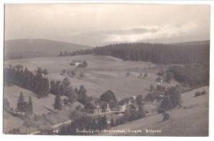 Ansichtskarte, Breitenbach i. B., Blick zur Dreckschänke, um 1930