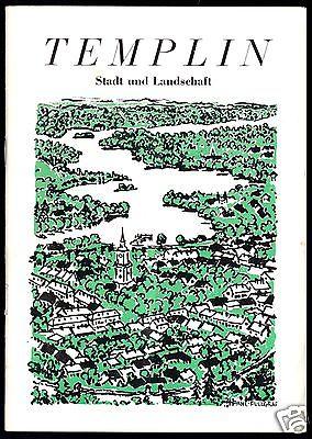Tour. Broschüre, Templin - Stadt und Landschaft, 1970
