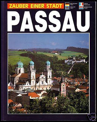 Tour. Broschüre, Passau - Zauber einer Stadt, 1990