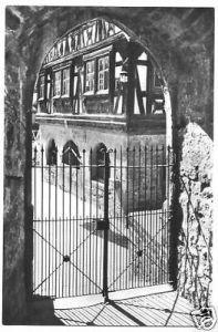 Ansichtskarte, Dörrenbach, Blick auf das Rathaus, 1963