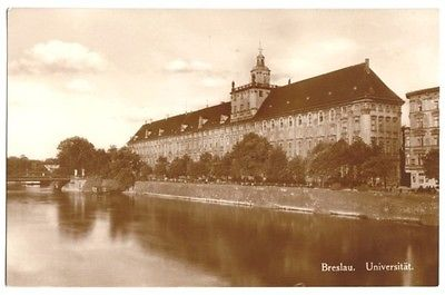 Ansichtskarte, Breslau, Wroclaw, Universität, 1929