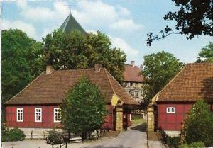 Ansichtskarte, Rheda i. Westf., Schloß Rheda, Eingang, 1979
