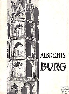 Tour. Broschüre, Die  Albrechtsburg Meissen, 1966
