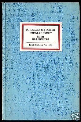 Insel Nr. 1079, Becher, Johannes R.; Wiedergeburt, 1987